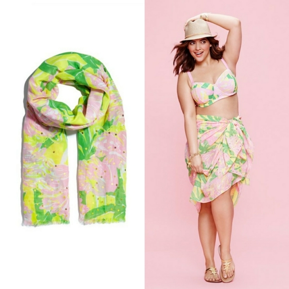 Lilly Pulitzer for Target Accessories - NWOT Lilly Pulitzer x Target Fan Dance Scarf